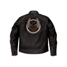 Harley Davidson Jacket  Men's 105th Anniversary Leather #97105-08VM