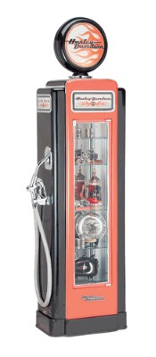 Harley Davidson Collectible Display Case  Super Premium Gas Pump