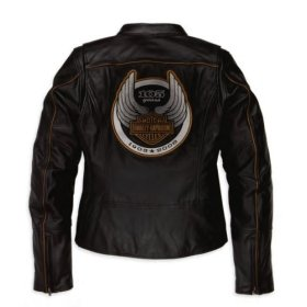 Harley Womens Leather Jacket