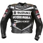 Suzuki Leather Motorcycle Jacket | Joe Rocket Racing Jacket GSX-R