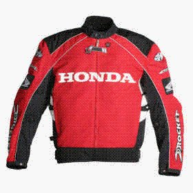 Honda CBR textile motorcycle racing jacket