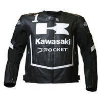 Kawasaki Leather Jacket for Ninja riders