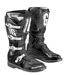 Gaerne SG-10 Motocross Boots in Carbon/White