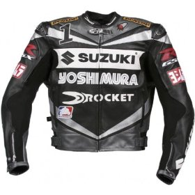 Joe Rocket Leather Racing Jacket