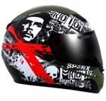 SparX Rebel S07 Special Edition Streetbike Helmet | Che Guevera