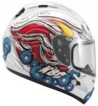 KBC Force RR Californian White Motorcycle Helmet