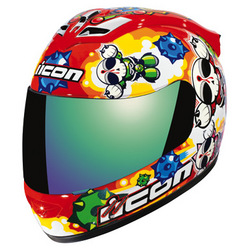 Icon Mainframe Death from Above Motorcycle Helmet