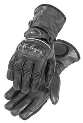 Firstgear Heated Carbon Leather Riding Gloves