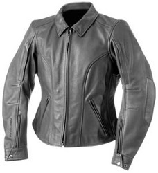 Firstgear Womens Babe Leather Motorcycle Jacket