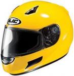 HJC Full Face Helmet w/ Liner | Polycarbonate Vented Yellow CLSP