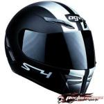 AGV S4 Full Face Helmet | Black Carbon Vented Liner