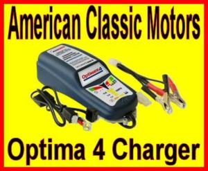 TecMate Optimate 4 Battery Charger