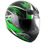 Hawk Full Face Helmet, Advance Decal | Lightweight Vented ABS Shell w/ Liner