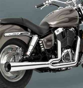 Vance & Hines Chrome Exhaust Pipe Kit,