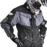 Fly Racing Mens Motorcycle Jacket Patrol | Waterproof Neoprene Vented