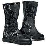 Sidi Adventure Rain Boots, Black | Mens Motorcycle Touring Safety Footwear