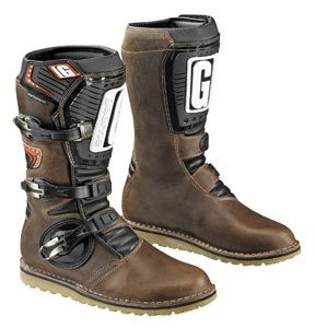 Gaerne Mens Brown Leather Boots,