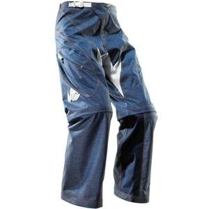 Motorcycle Denim Racing Pants, Zip Off