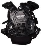 Fly Racing Motorcycle MX Chest Protector, Black | Hydro Pack Water Bladder