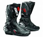Sidi Vertigo Mens Race Boots, Narrow Black or White | Armored Adjustable Lorica, Worn Outside or Under Pants