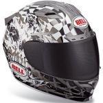 Bell MX & Street Vortex Torn Helmet, Snell & DOT | Polycarbonate Silver, Gold, or Red