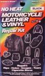 Leather or Vinyl Jacket Repair Kit, Motorcycle Black | Easy DIY Adhesive for Boots, Bags, Seats