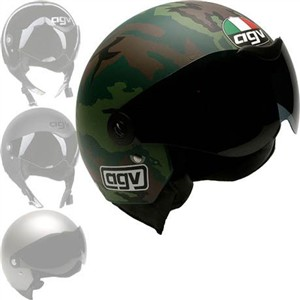 AGV Dragon Helmet in Army Camo, Black,