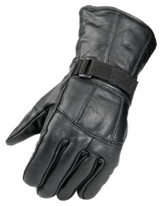 Raider Motorcycle Gloves, Black
