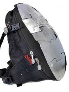 Armordilo Motorcycle Hard Backpack,