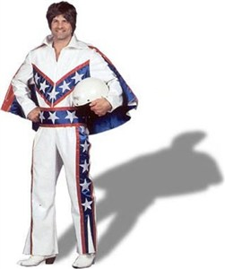 Evel Knievel Costume, Adult Mens