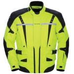 Tour Master Transition High Visibility Motorcycle Jacket | Waterproof Reflective & Vented, Yellow 2