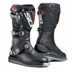 Sidi Discovery Rain Boots | Black Leather Cambrelle w/ Memory Buckle Lock