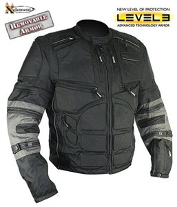 Xelement Level 3 Armored Motorcycle