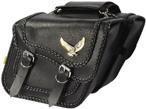Willie & Max Black Magic Saddlebags