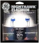 Nighthawk Motorcycle Light Bulb | GE Headlight Platinum Replacement Pack of 2