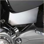 Victory Motorcycle Battery Box Cover | Chrome ABS Panel for Jackpot, Kingpin & Vegas
