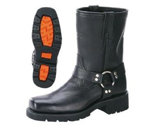 Xelement Motorcycle Short Harness Boots
