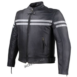 Track Motorcycle Leather Jacket